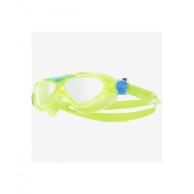Маска для плавания TYR Rogue Swim Mask Youth, LGRSMKD/892, зеленый
