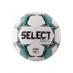 Мяч футбольный Select Brillant Super FIFA арт.810108 р.5 белый/зеленый/черный