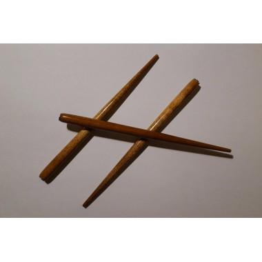 Деревянный держатель для пера (морилка, светлый лак)