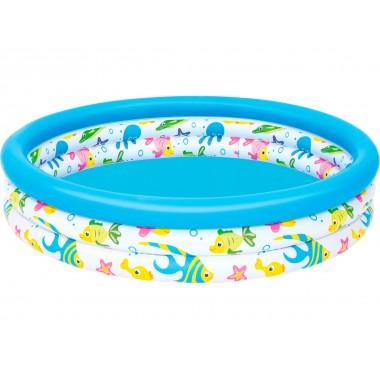 Детский круглый бассейн Bestway 51009 Coral Kids (122х25см)