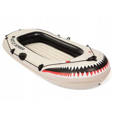 Надувная лодка с вёслами и насосом Bestway 61108 6+