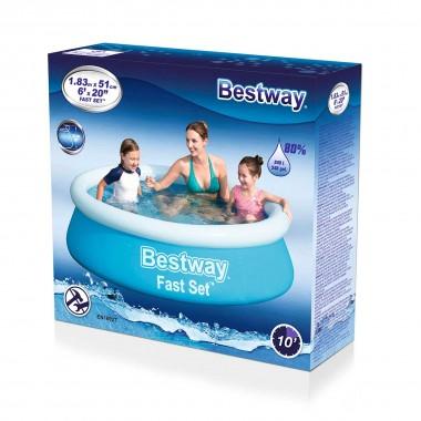 Надувной бассейн Bestway 57392 (183х51см)