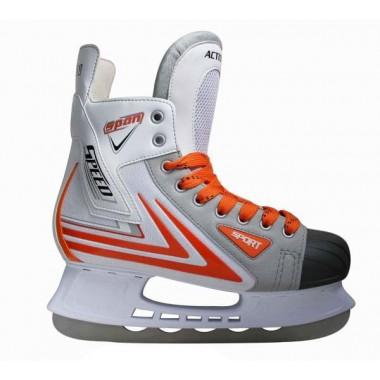Коньки хоккейные Action PW-217 р.40