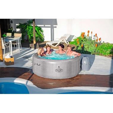 Надувной СПА бассейн (джакузи) Bestway 54286 Lay-Z-Spa Cancun AirJet (180х66см)