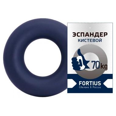 Эспандер-кольцо FORTIUS 70 кг темно-синий
