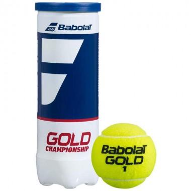 Мяч теннисный Babolat Gold Championship 3B арт.501084 уп.3 шт