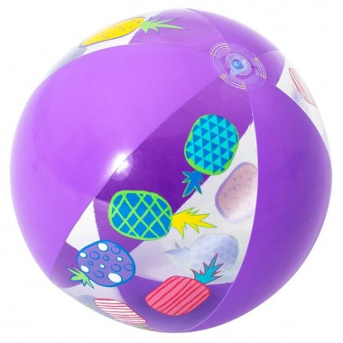 Мяч пляжный дизайнерский Bestway 31036 51 см фиолетовый