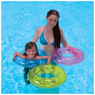 Круг надувной для плавания Bestway 36022 (51 см) 3+ розовый