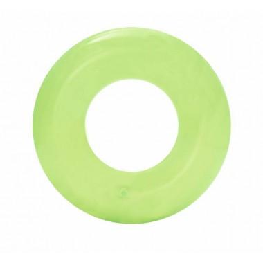 Круг надувной для плавания Bestway 36022 (51 см) 3+ зелёный