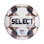 Мяч футзальный Select Futsal Master р.4 арт.852508 белый/оранжевый/черный