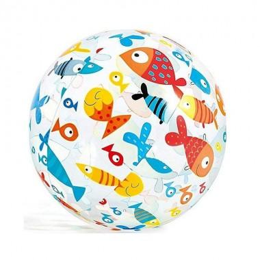 Надувной мяч Intex 59040NP Lively Print Ball (51см, 3+) рыбки