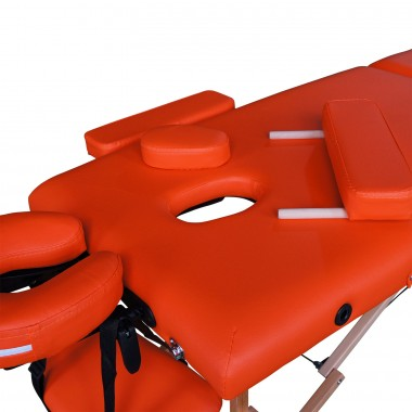 Массажный стол DFC NIRVANA Optima оранжевый