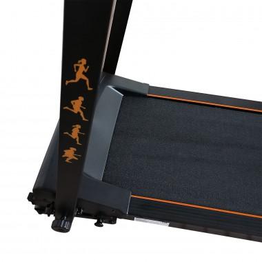 Беговая дорожка DFC SENTRA T123B black/orange