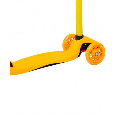 Самокат 3-колесный Ridex Kiko, 120/80 мм, желтый/оранжевый