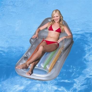 Надувной шезлонг для отдыха на воде Bestway 43028