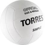 Мяч волейбольный TORRES Simple V10105 р.5