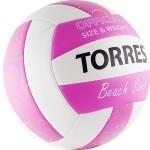 Мяч для пляжного волейбола Torres Beach Sand Pink, р.5