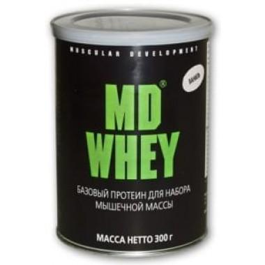 Протеин MD Whey 300 гр Вкус ваниль