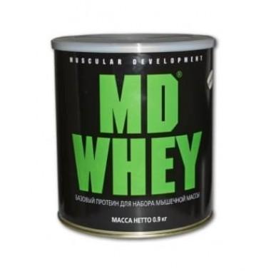 Протеин MD Whey 900 гр Вкус натуральный