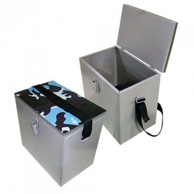 Рыбацкий ящик 300х190х290 оцинкованный