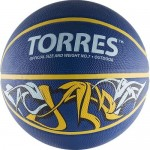 Мяч баскетбольный Torres Jam арт.B00047 р.7