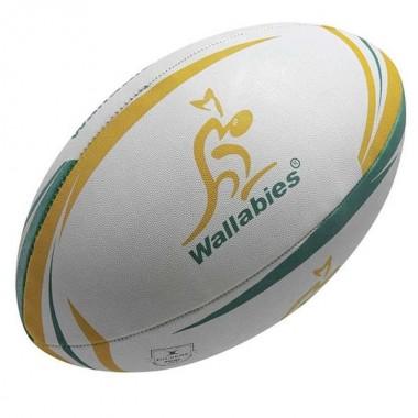 Мяч для регби GILBERT Supporter Australia арт.45058805 р. 5