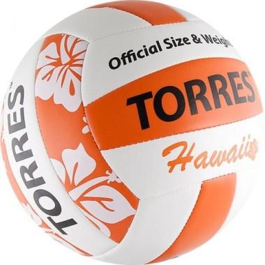 Мяч для пляжного волейбола Torres Hawaii арт.V30075B р.5