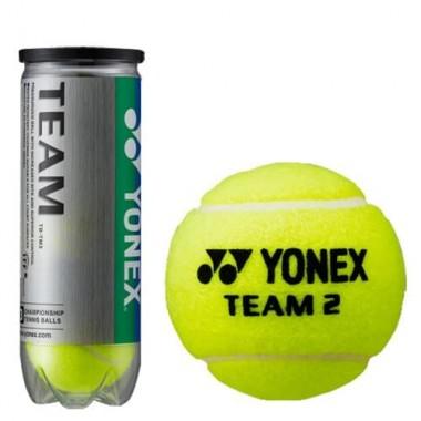 Мяч теннисный Yonex Team 3B уп.3 шт нат.резина