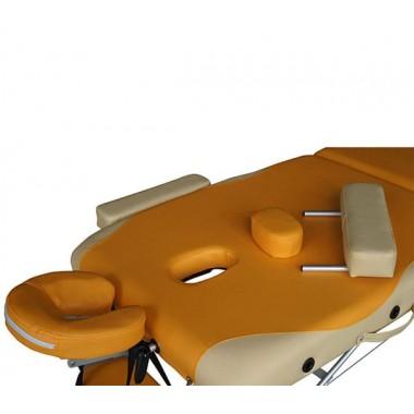 Массажный стол DFC NIRVANA Elegant PREMIUM orange/beige
