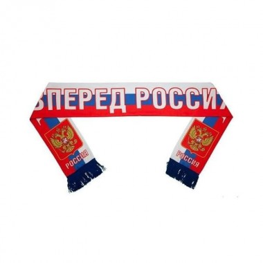 Шарф фанатский трикотажный с логотипом