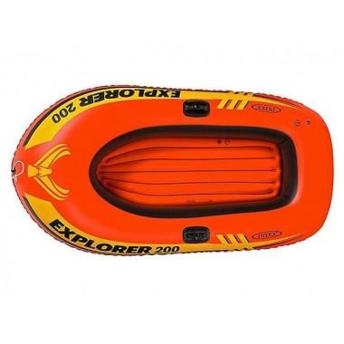 Надувная двухместная лодка Intex 58330 Explorer 200