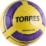 Мяч футбольный Torres Winter Club Yellow арт.F30045YEL р.5